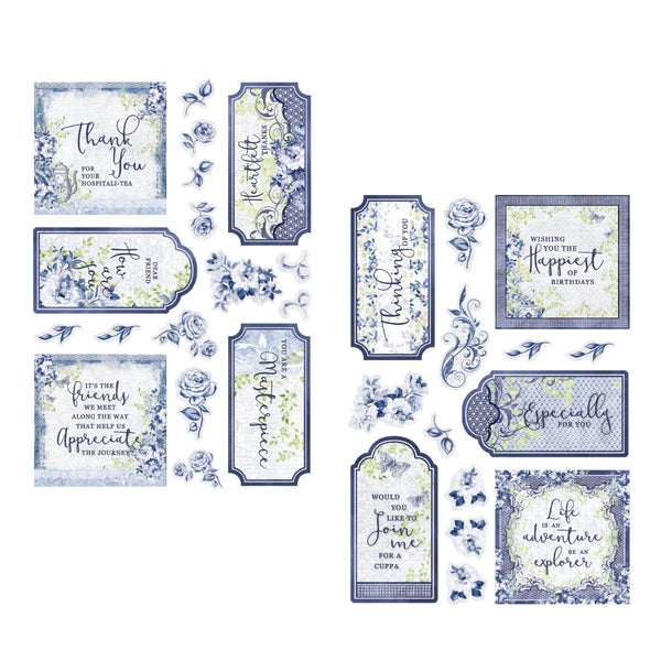 Craft Easy - English Boutique - Die Cut Topper Pack - Tags 31 pcs (Cr0000029)