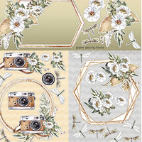 Celebr8 - Enchanted 12 x12 Pattern Paper - Cover Sheet