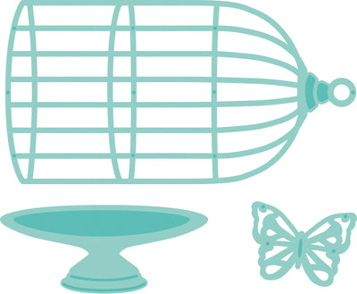 Kaisercraft - Romantique -  Decorative Die - Birdcage (DD597)