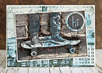 Darkroom Door Photo Stamp Skateboard (DDPS039)