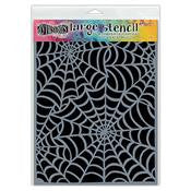 Dylusions Large Stencil - Cobwebs Large (DYS52265)