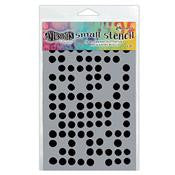 "Dylusions 5""x8"" Stencil - Fresh Dots Small (DYS52364)"