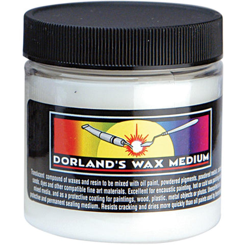 Dorland's Wax Medium - 4oz/118ml - VDW0001