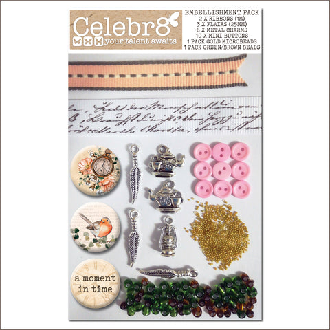 Celebr8 Embellishment Pack - Our Story EP2038