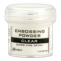 Ranger Embossing Powder - Clear Super Fine (EPJ37385)