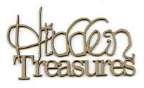 Scrap FX - Chipboard Embellishment - Hidden Treasures (2013390)