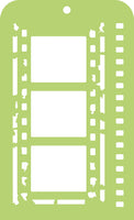 Kaisercraft - Anthology -Mini Template - Film Strip (IT033)