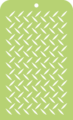 Kaisercraft - Mountain Air - Mini Designer Template - Checker Plate (IT037)