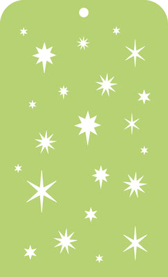 Kasiercraft - First Noel -  Mini Designer Templates - Stars (IT041)