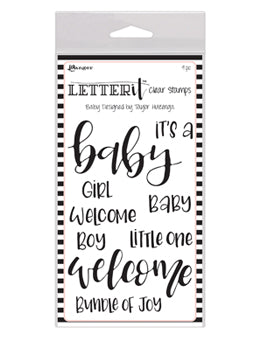 Ranger - Letter It - Clear Stamp - Baby (LEC59288)