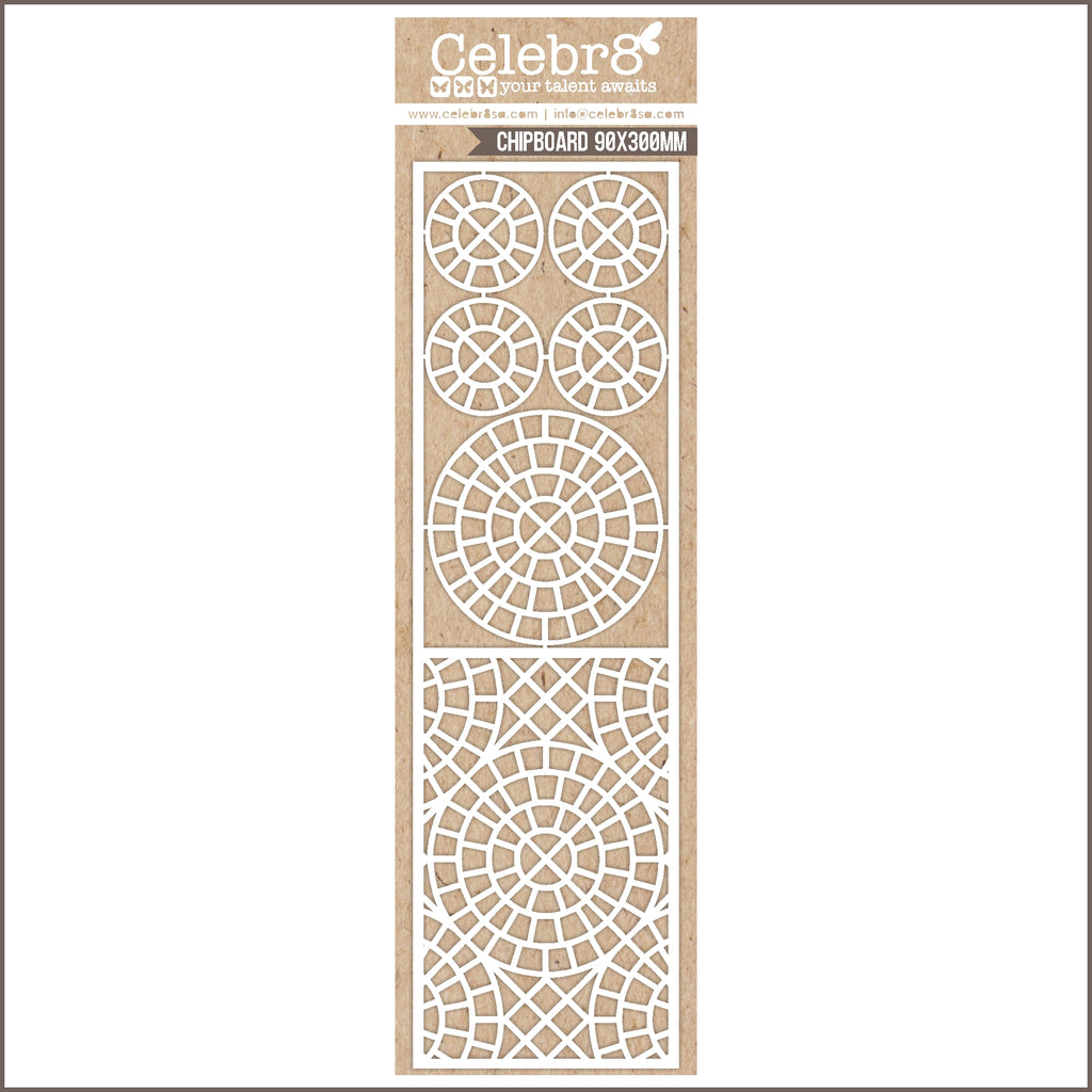 Celebr8 Ivory Chipboard - Our Happy Place MB3635