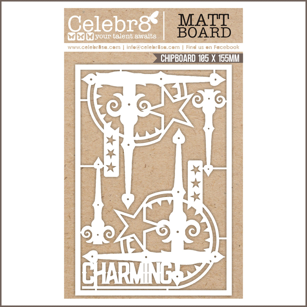 Celebr8 Ivory Chipboard - Born to be an Original MB3626