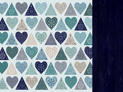 "Kaisercraft - Wonderland - 12x12"" Scrapbook Paper - Chilled (P2599)"