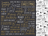 Kasiercraft - First Noel - 12x12 Scrapbook Paper - Wonderful (P2615)