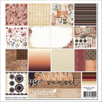 Celebr8 Savanna Sunset Paper Pack PP5307