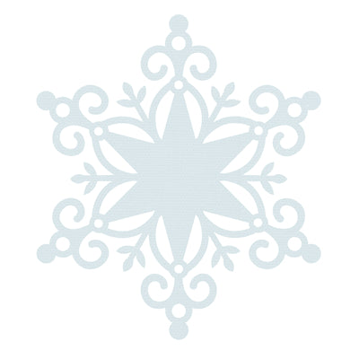 "Kaisercraft - Wonderland - 12x12"" Specialty Paper - Snow Flake (PS537)"