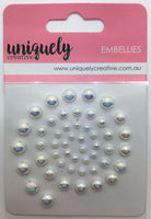 Uniquely Creative - Pearl Bling - Iridescent Pearls (UCE0138)