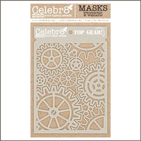 Celebr8 - Stencil Mask Template - Top Gear SM4609