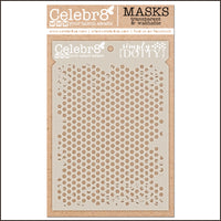 Celebr8 - Stencil Mask Template -  Letters to My Love - Simply Dotty (SM4646)
