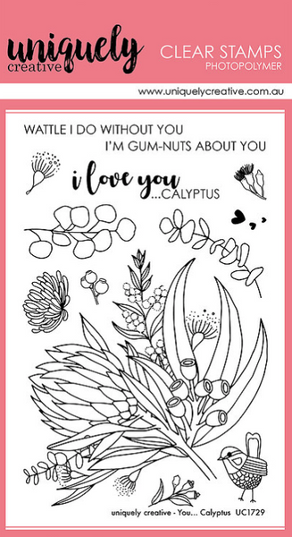 Uniquely Creative - Clear Stamp - You.... Clayptus (UC1729)