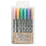 Tim Holtz Distress Crayons - Set 5 - 6 pieces (TDBK51756)