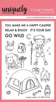 Uniquely Creative - Clear Stamp - Go Wild (UC1724)