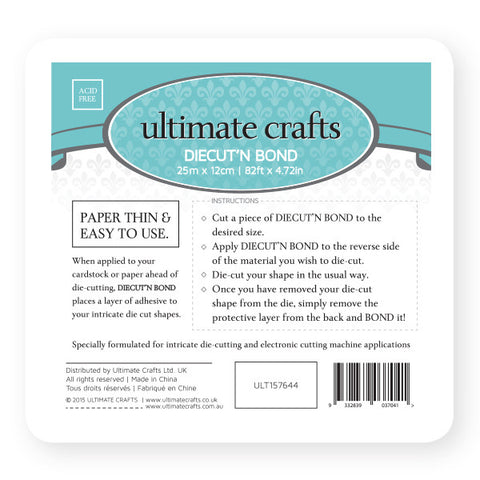 Ultimate Crafts - Diecut'n Bond - 12cm X 25m (ULT157644)