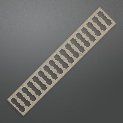 Ultimate Crafts - Banister Border Chipboard - The Ritz Collection - (ULT158360)