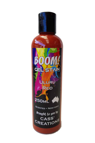 Boom Gel Stain - Uluru Red