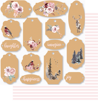 Uniquely Creative - Winter Rose Collection -  Imagine Paper  UCP2058