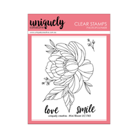 Uniquely Creative - Clear Stamp -Mini Bloom UC1745