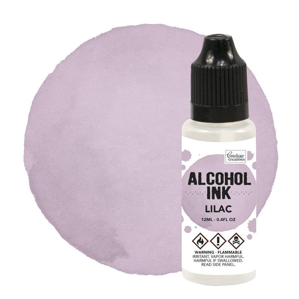 Couture Creations 12ml Shell Pink/Lilac Alcohol Ink CO727329