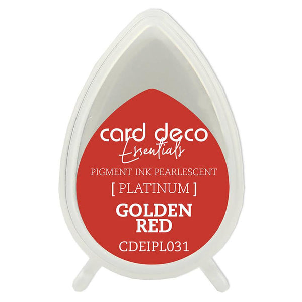 Card Deco Essentials Pearlescent Pigment Ink - Golden Red - CDEIPL031