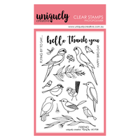 Uniquely Creative - Clear Stamp Flying By Stamp Birds (UC1728)
