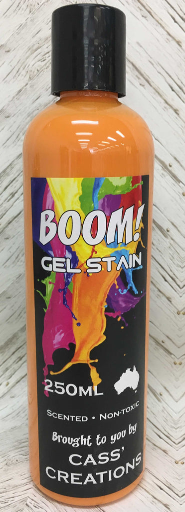 Boom Gel Stain - Pea Flower Orange - 250 ml