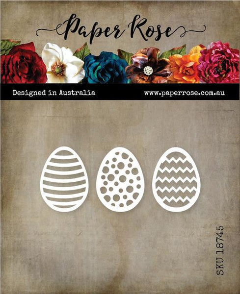 Paper Rose Cutting Die Easter Egg Decorative small 18745
