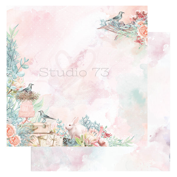 Studio 73 A Touch of Spring - Sweet Spring 12x12 d/s Patterned Paper 557322