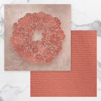 Couture Creations Lest We Forget Double Sided Patterned Paper 4 CO727678