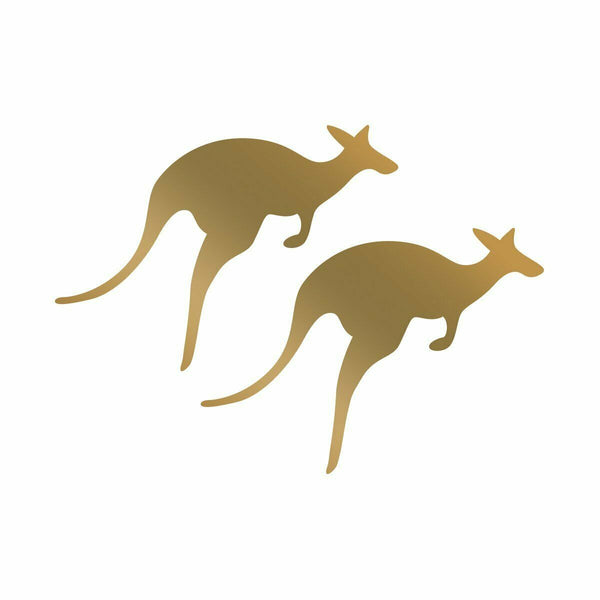 Couture Creations - Abracadabra - Mini Hotfoil Stamp - Kangaroos (CO726139)