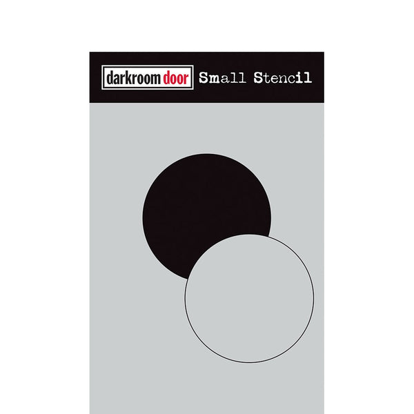 "Darkroom Door - Small Stencil - Circle Set (4.5"" x 6"")(DDSS019)"