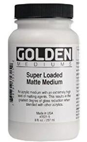Golden - Super Loaded Matte Medium 237 ml