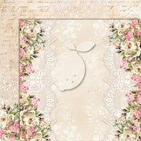 LemonCraft - House of Roses 2 12 x 12 Scrapbook Paper Extra 05