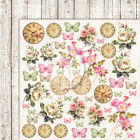 LemonCraft - House of Roses 2 12 x 12 Scrapbook Paper Extra 06
