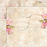 LemonCraft - House of Roses 2 12 x 12 Scrapbook Paper Extra 07