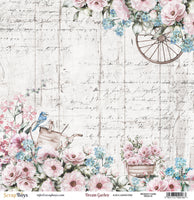 Scrap Boys - Dream Garden - 12 x 12 Pattern Paper (Drga-01)
