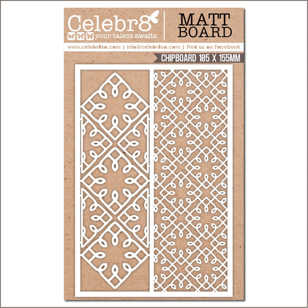 Celebr8 Ivory Chipboard -Enchanted -  MB4648