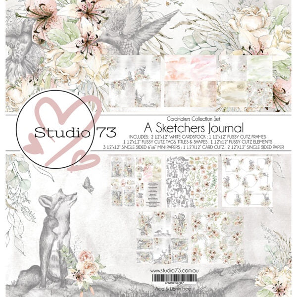 Studio 73 A Sketchers Journal Cardmakers Set 557367