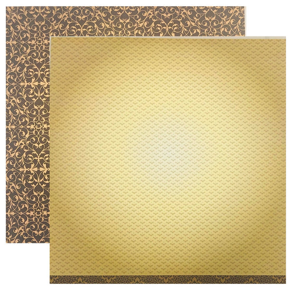 Couture Creations 12 x12 d/s Patterned Paper - Ooh La La (ULT157615)