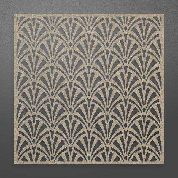 Couture Creations - Fanned Background Chipboard (1 piece) (ULT158356)