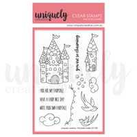 Uniquely Creative - Clear Stamp -Fairytale Castle UC1761